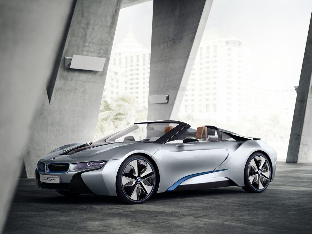 BMW's i8 Spyder Concept