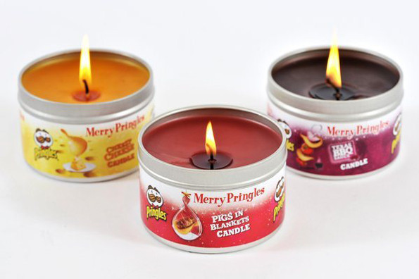 Pringles Candles