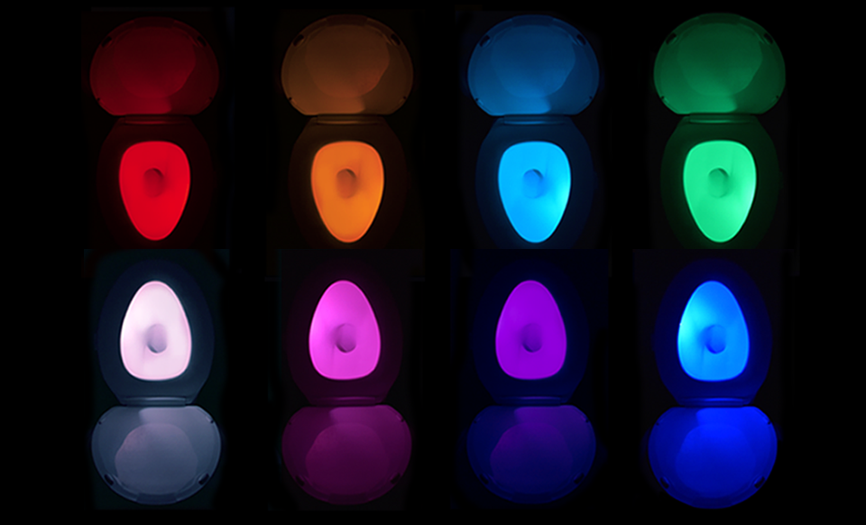 illumiBowl Motion-Activated Toilet Night Light
