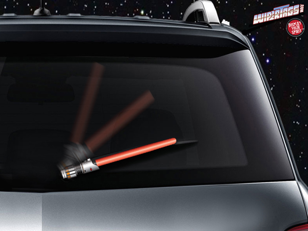 Lightsaber Windshield Wiper Blades