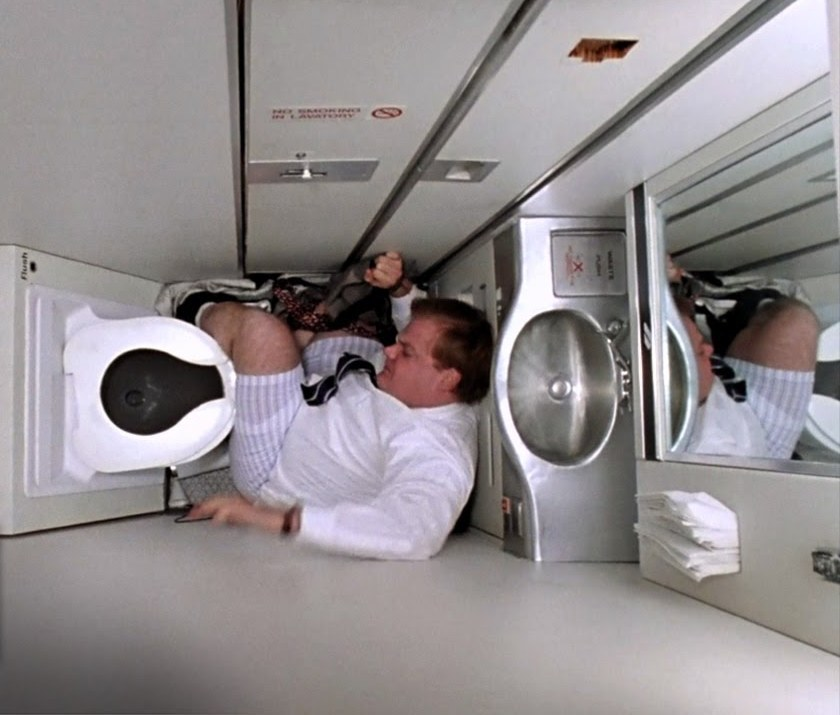 Bathroom In The Airplanes Are Not The Dirtiest Place