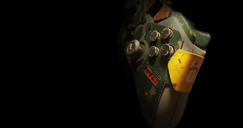 Incredible Xbox One Boba Fett Controller
