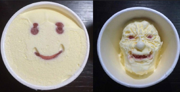 Smiley Face Japanese Ice Cream Will Melt Into Something Creepy
