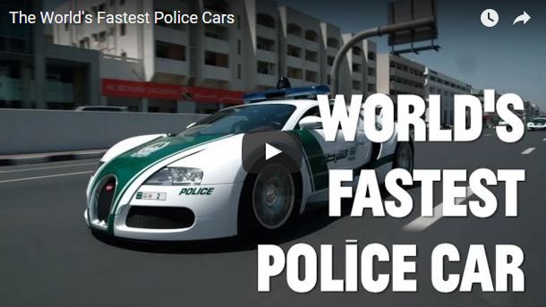Dubai Have The Craziest Police Vehicles