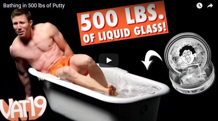 Liquid Glass Thinking Putty