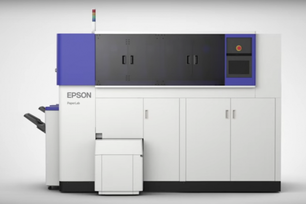 paper recycling machine epson