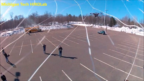 Drone-catching-Hexacopter