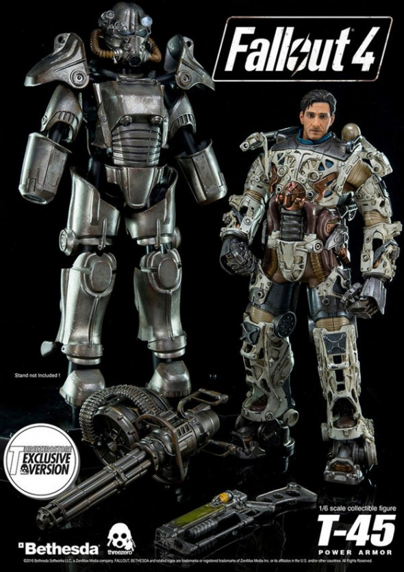 Fallout 4 T-45 Power Armor Figure