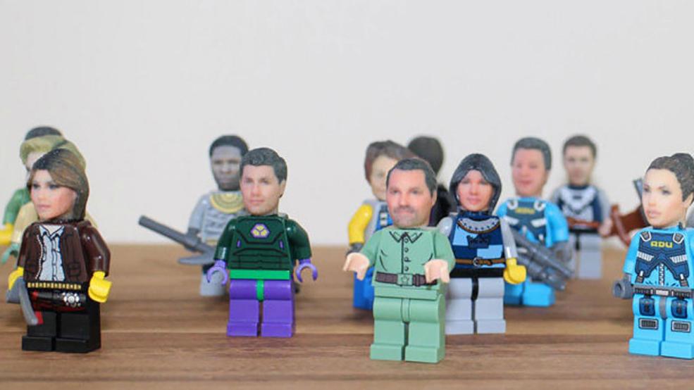 3D Lego Print Heads