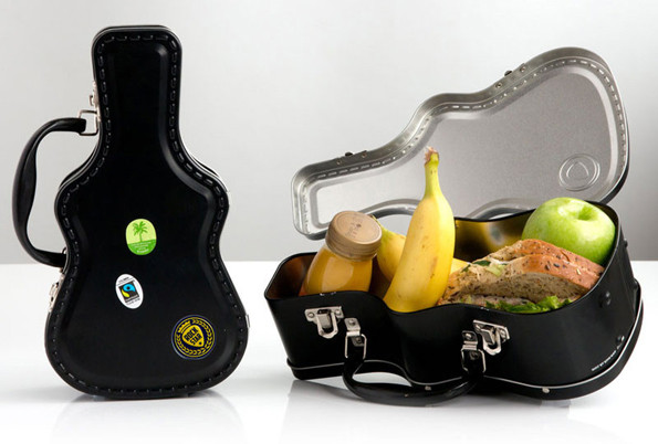 The Guitar Case Lunch Box