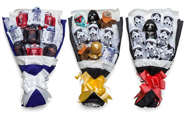 Valentines Day Star Wars Bouquets