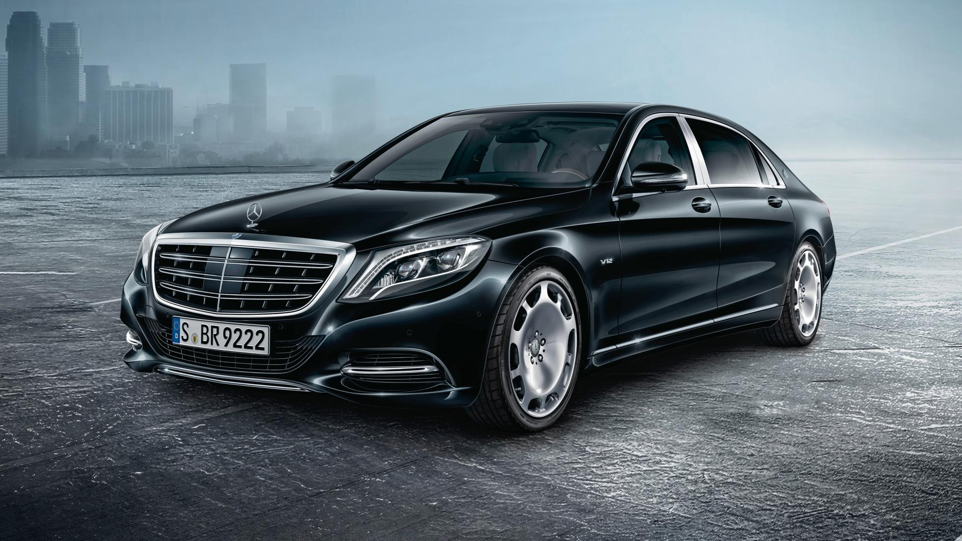 Armoured Mercedes-Maybach S600