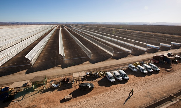 World's Largest Solar Power Plant