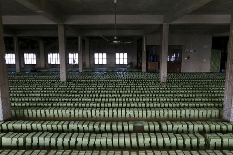 Olive Oil Soap Factory in Syria