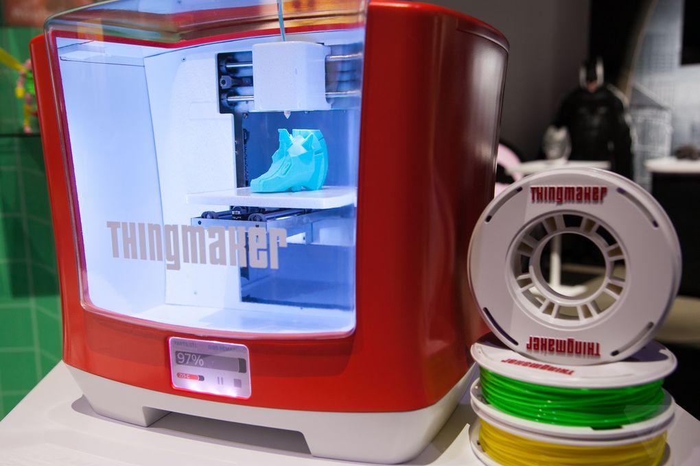 Mattel 3D Printer