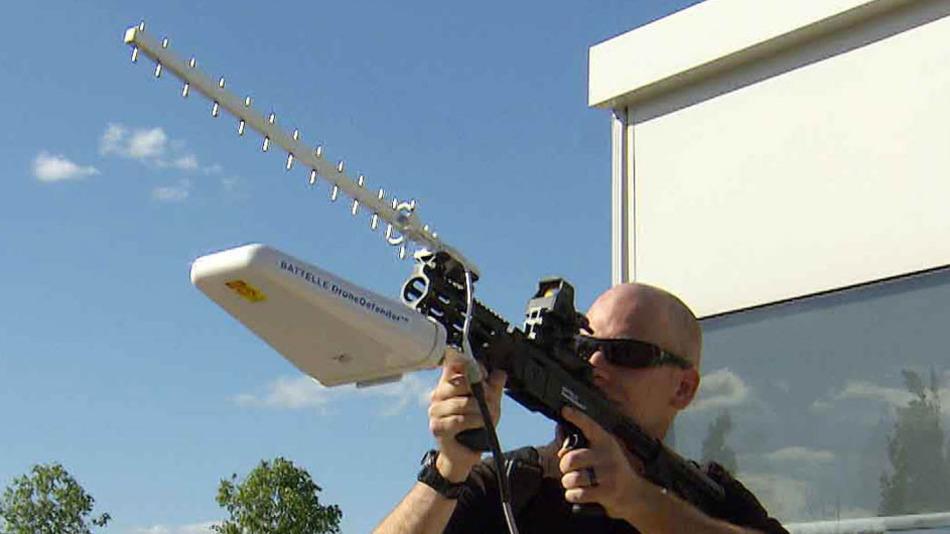 Anti Drone Gun