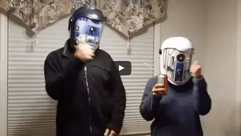 'Star Wars' Helmets Allow You To Talk Like a Droid