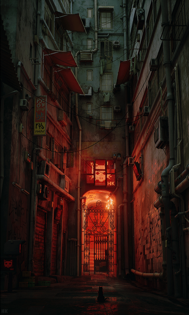 Now You Be a Cat In A New Game Exploring Hong Kong's Kowloon Walled City