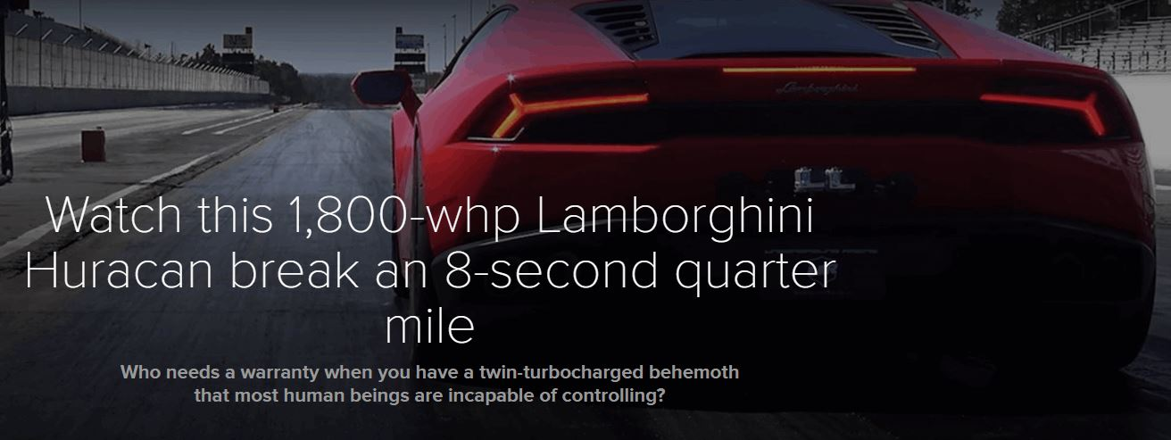 1 800 hp lamborghini huracan break an 8 second quarter mile gamengadgets. Black Bedroom Furniture Sets. Home Design Ideas