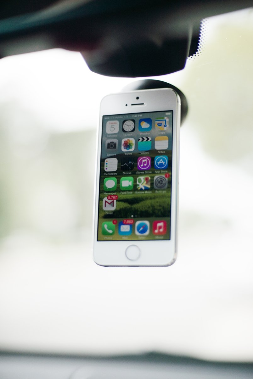 360° Swivel Mount MicroSuction Phone Dock