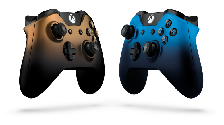 DUSK SHADOW AND COPPER SHADOW XBOX ONE CONTROLLERS