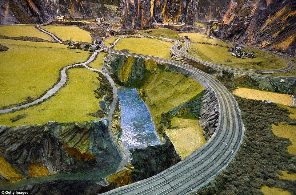 World's Largest Model Railroad