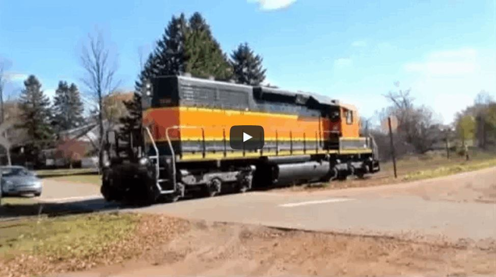 Train Sounds Replaced With Screams