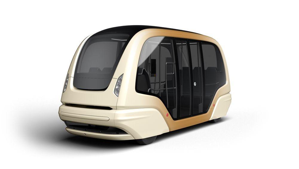 Singapore's Futuristic Driverless Pods