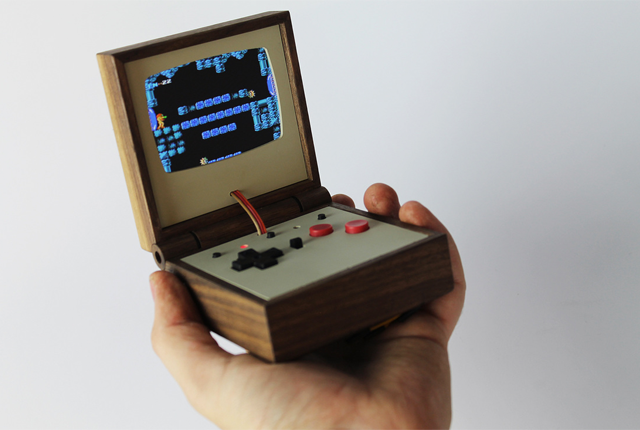 "Wooden ""Gameboy"""