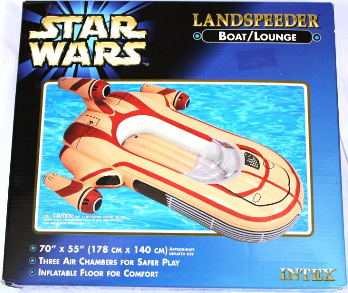Inflatable Star Wars Landspeeder Pool Lounger