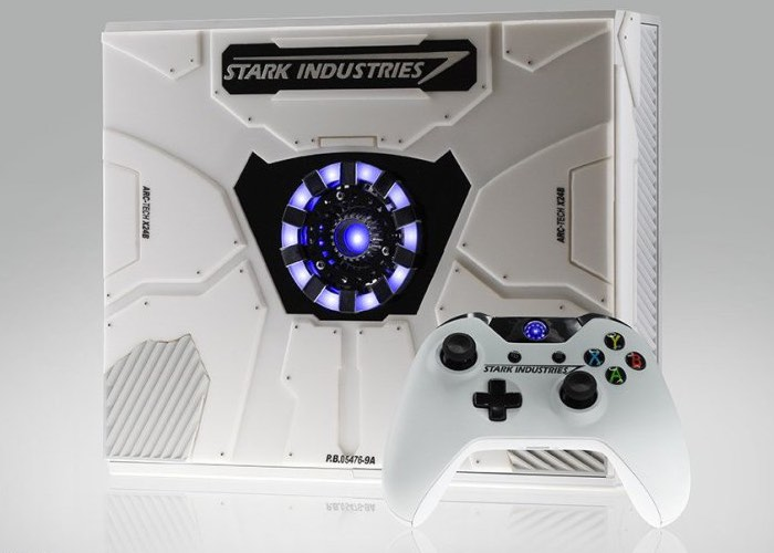 Microsoft's Special Edition Iron Man Xbox One
