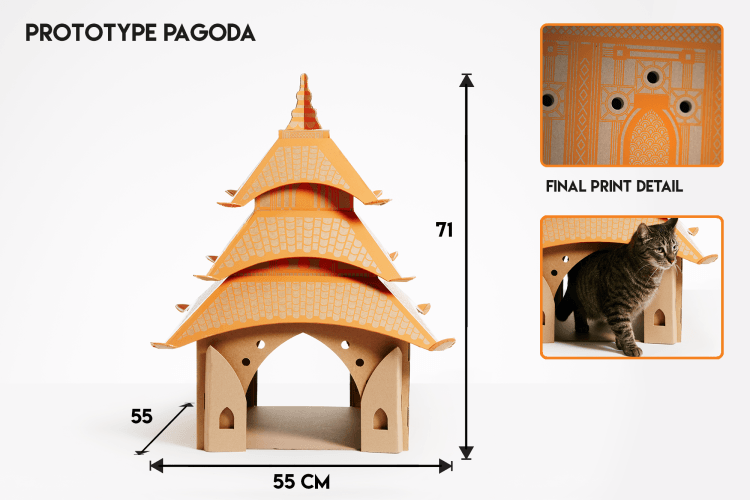 Cat Play Houses