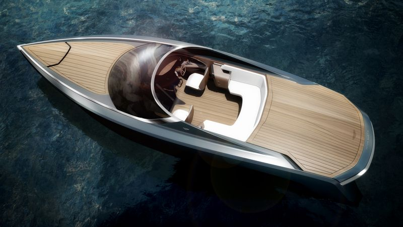 Aston Martin-Designed Convertible Powerboat