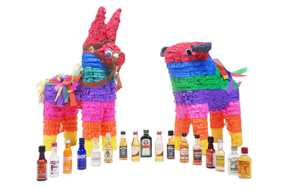 Adult Piñatas Got Bottles Of Booze In Them