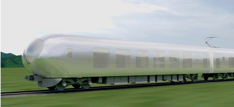 Japanese Invisible Train