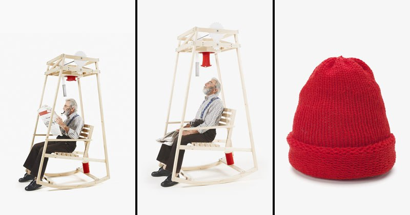 Rocking Chair Knits You a Hat While You Rock