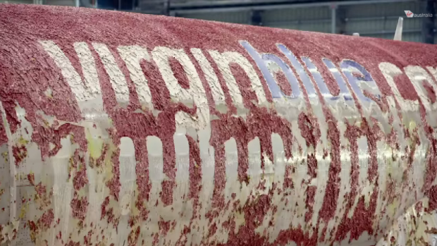 Check Out How Boeing 737 Repainted