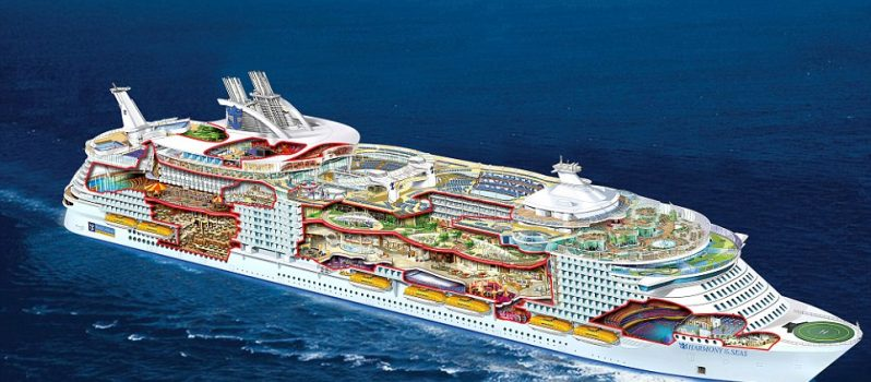World's Largest Cruise Ship Docks In The UK