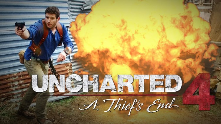 Incredible UNCHARTED 4 Gameplay In Real Life