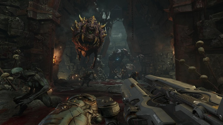 SKYRIM Easter Egg In DOOM