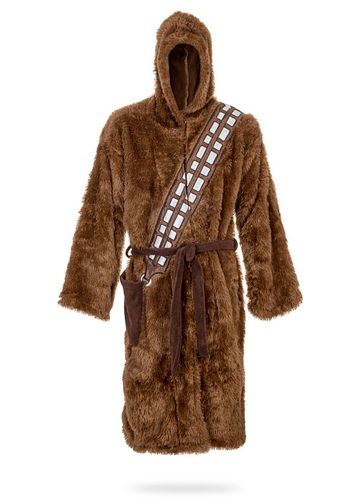 Star Wars Chewbacca Bathrobe By Thinkgeek