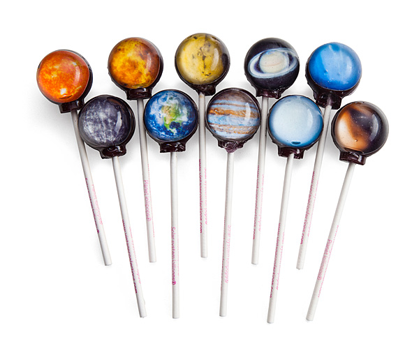 Planetary Hard Candy Lollipop Set