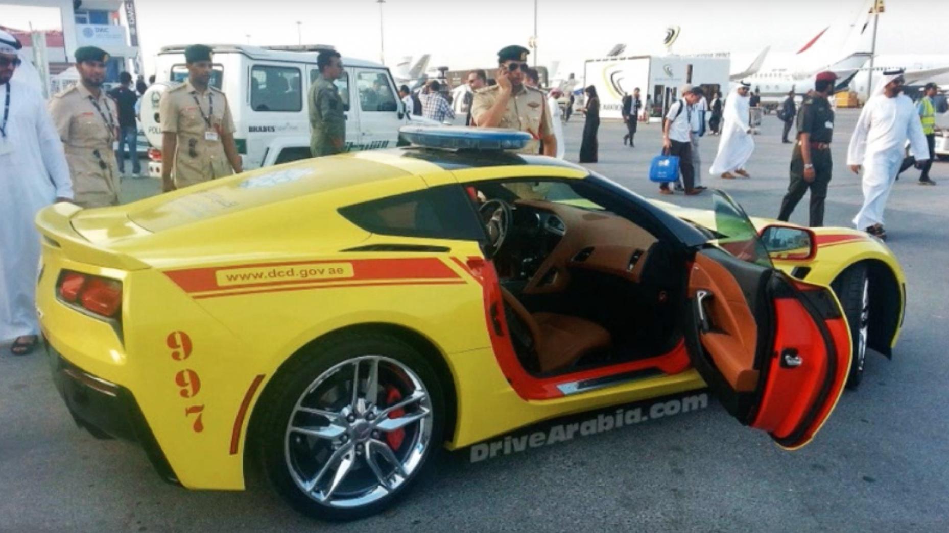 Dubai got the world's fastest fire 'truck'