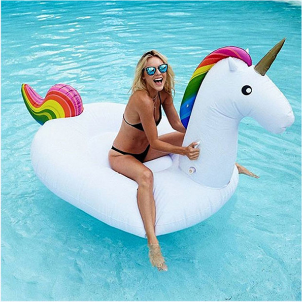 Inflatable Unicorn Pool Float Of Your Dreams