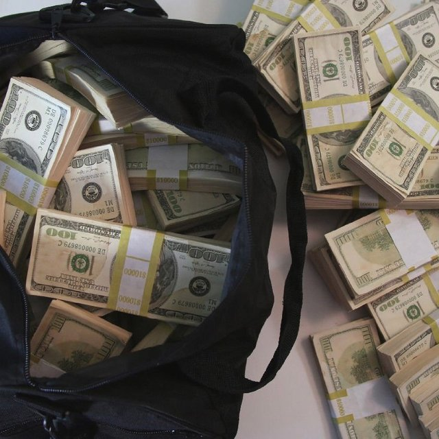 $500,000 Duffle Bag of Prop Money