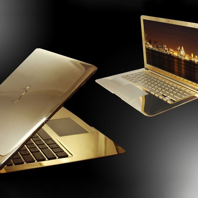 24ct Gold MacBook