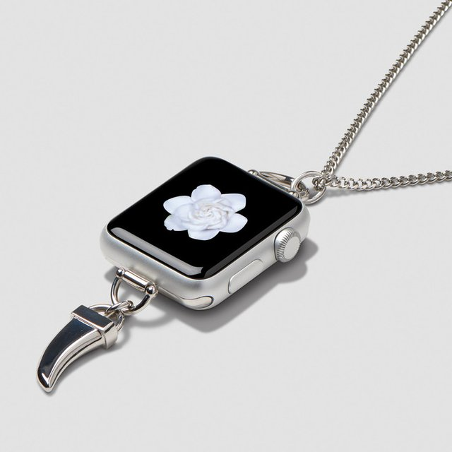 Horn Charm Necklace for Apple Watch