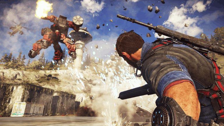 Just Cause 3 'Mech Land Assault'