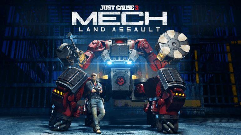 Just Cause 3 'Mech Land Assault'