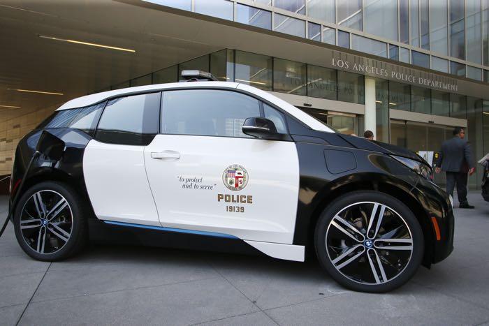 BMW i3 Police Cars